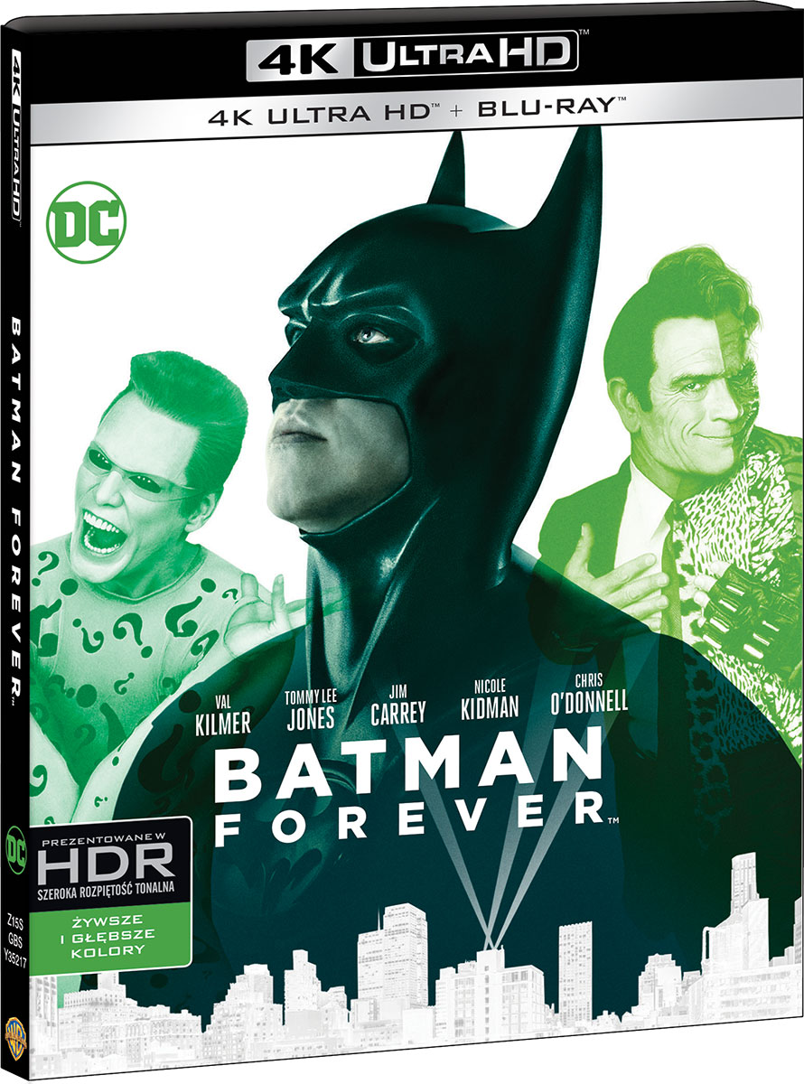 Batman Forever (1997) - Film 4K Ultra-HD